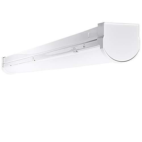 Best Rated Shop Lights: Luxrite 3FT Slim Linear LED Shop Light Fixture, 26W, 3000K