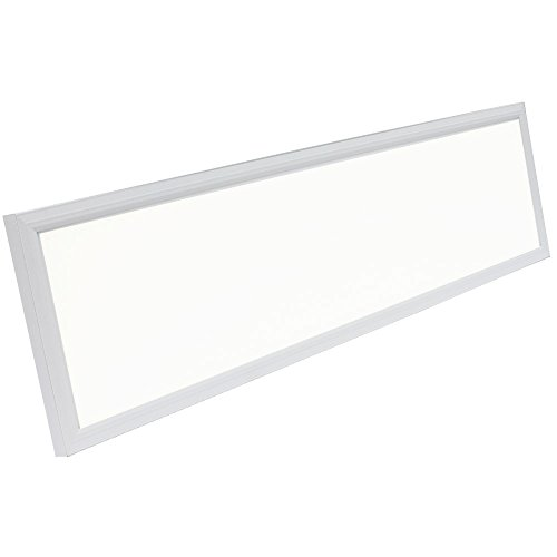 Recessed Garage Lighting Fixtures: Rectangle LED Panel Recessed In Ceiling Tile Light Or