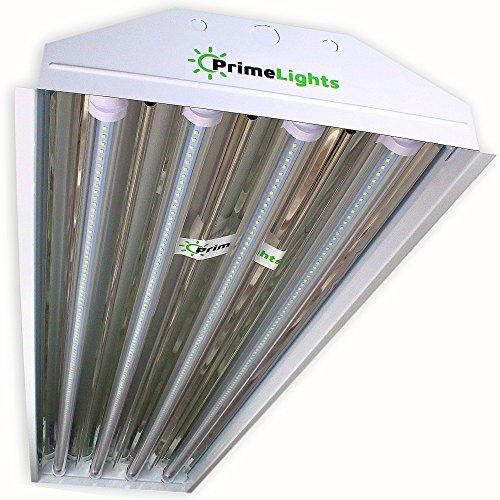 PrimeLights 4 Bulb / Lamp T8 LED High Bay Utility Shop
